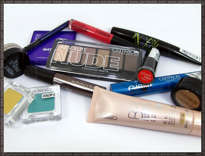 Catrice spring 2013 assortment change products