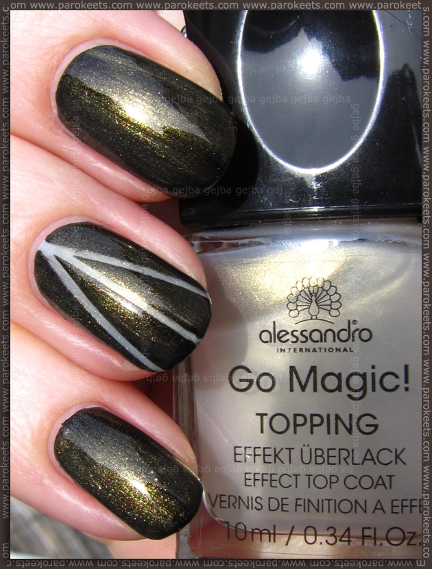 Alessandro Effect Topping - Royal Gold sun