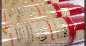 Project foundation: Bourjois Healthy Mix liquid foundation (new, 2013)