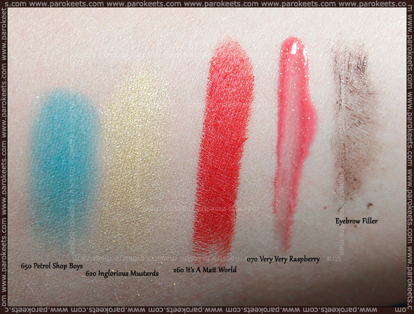 Swatch: Catrice new products: Spring 2013
