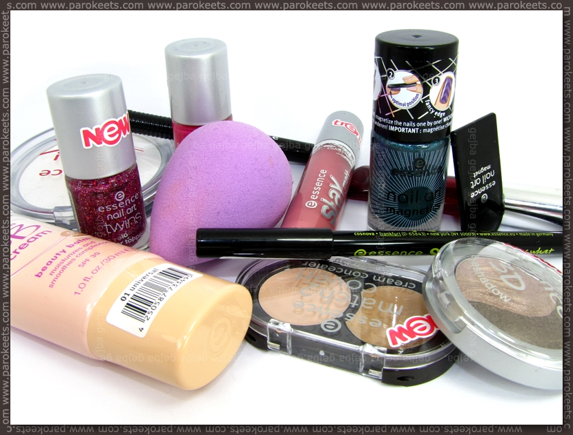 Essence new products spring 2013
