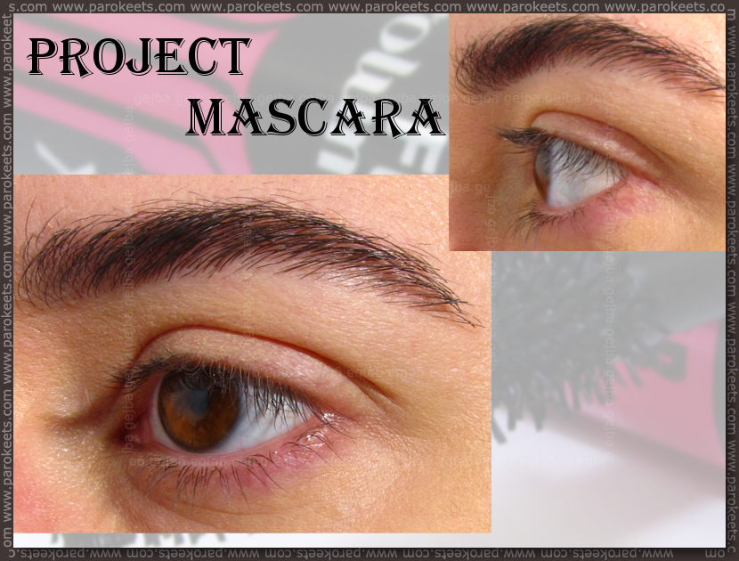 Project mascara - bare eyelashes by Gejba