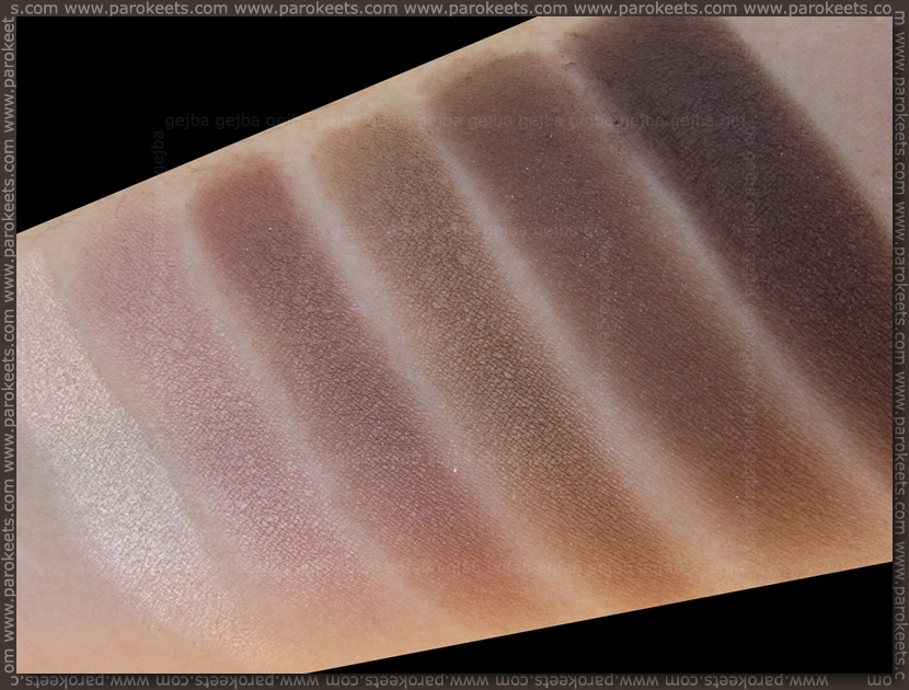 Catrice Absolute Nude eyeshadow palette (shade)