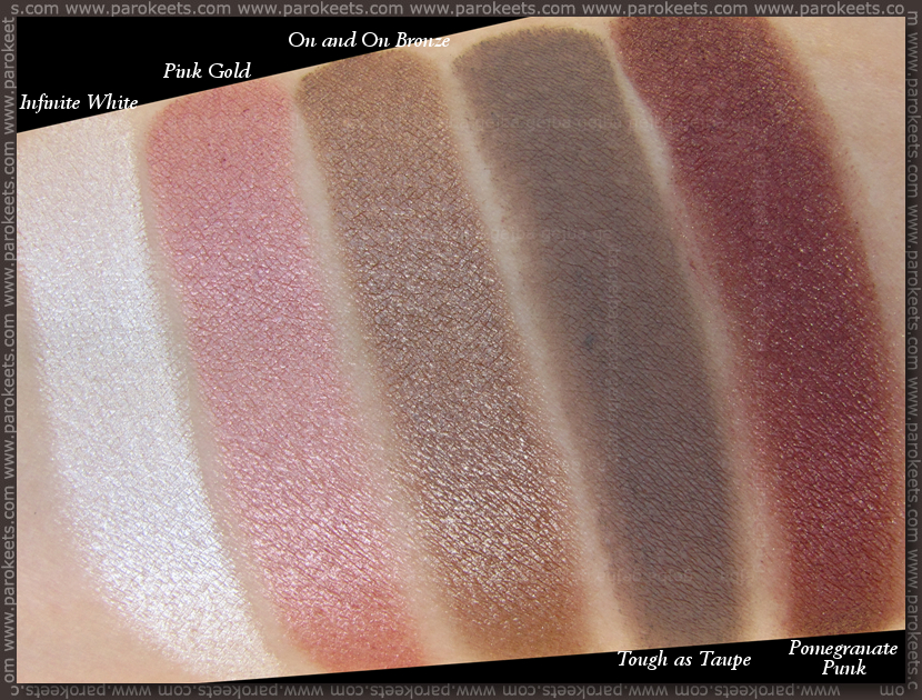 Maybelline Color Tattoo eyeshadow swatches (shade)