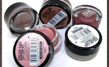 Maybelline Color Tattoo eyeshadows