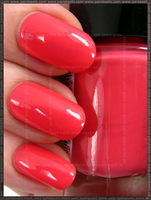 Catrice Meet Me At Coral Island nail polish (2013)