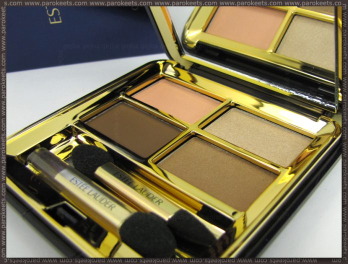 Estee Lauder Signature Eyeshadow Quad: Spiced Peach