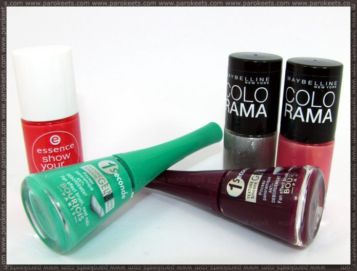 Colorama, Bourjois nail polish haul