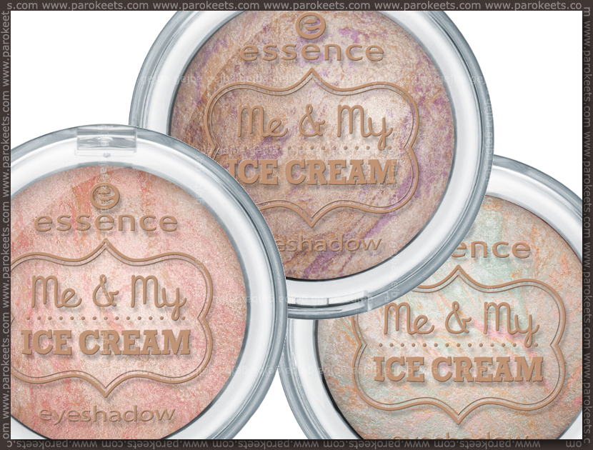 Essence Me & My Ice Cream LE eyeshadows (preview)
