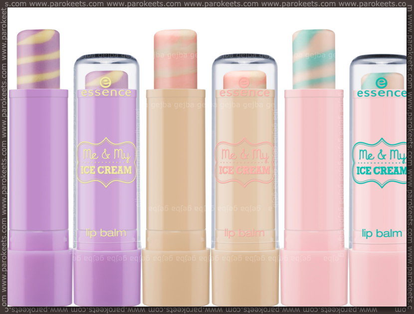 Essence Me & My Ice Cream LE lipbalm (preview)