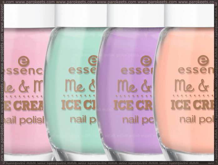 Essence Me & My Ice Cream LE nail polishes (preview)
