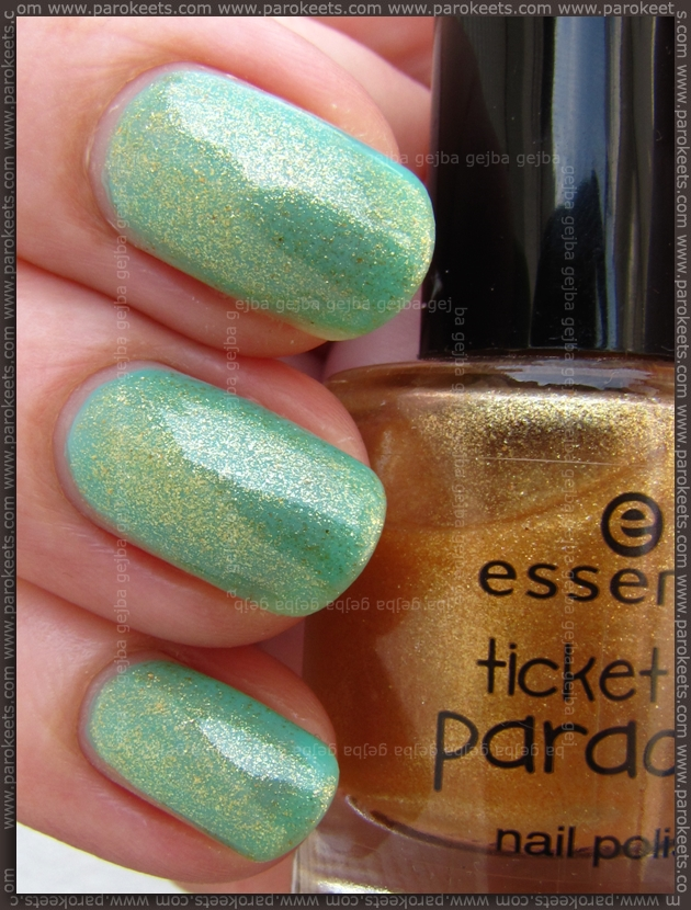 Essence Ticket To Paradise - Dive with me to the island + Tropical Heat layering