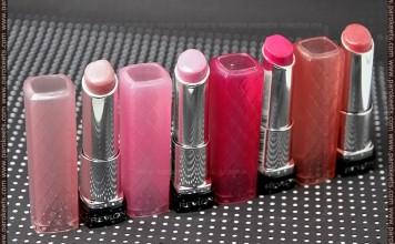 Revlon Colorburst Lip Butter: Sugar Frosting, Cupcake, Lollipop, Peach Parfait