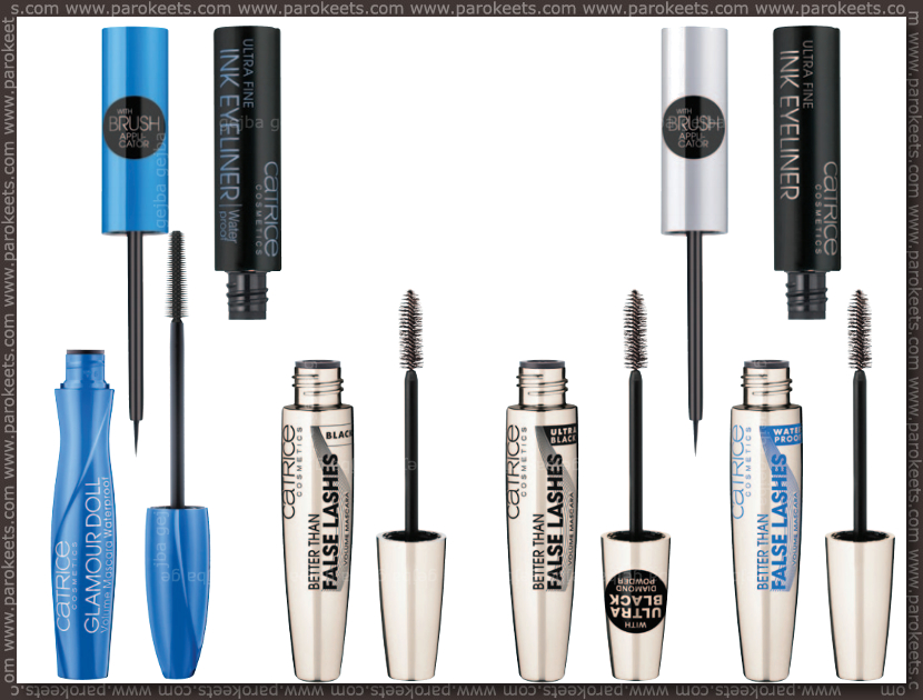 Catrice new for fall 2013 - mascaras, liquid eyeliners