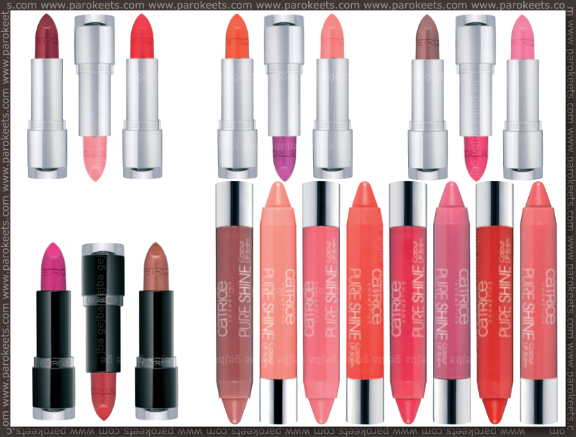 Catrice new for fall 2013 - lipsticks, lip pens