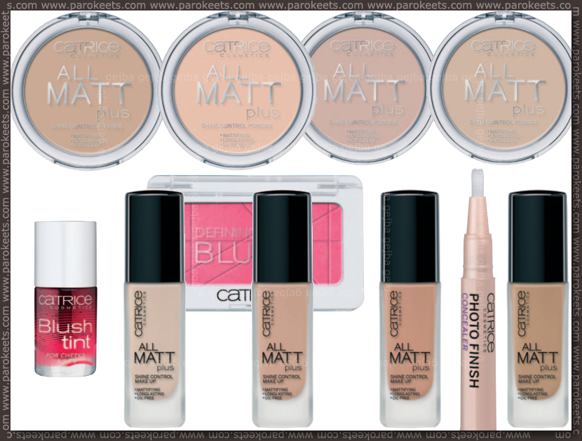 Catrice new for fall 2013 - liquid foundation, blush tint, concealer