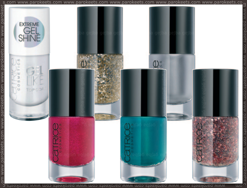 Catrice new for fall 2013 - nail polishes