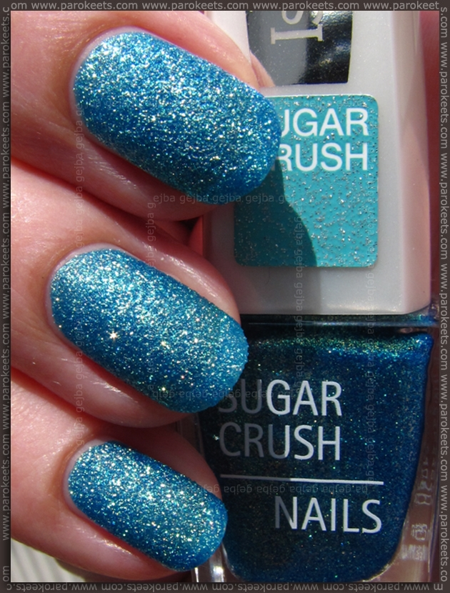 IsaDora Sugar Crush LE - Ocean Crush swatch (sun)