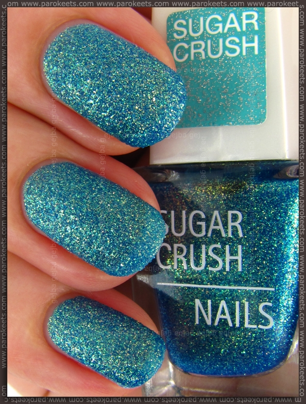 IsaDora Sugar Crush LE - Ocean Crush swatch (lightbox)