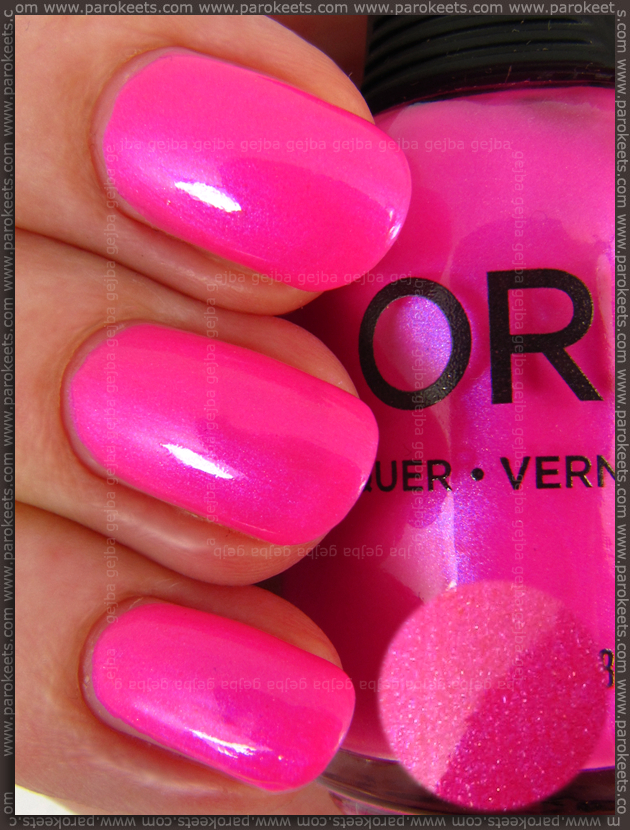 Orly Oh Cabana Boy nail polish swatch