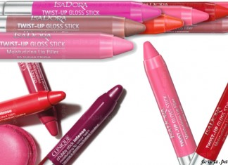 Fat lip pencils - Clinique, Isadora