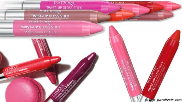 Fat lip pencils - Clinique, Isadora