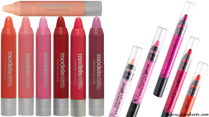 Fat lip pencils - Models Own, BarryM