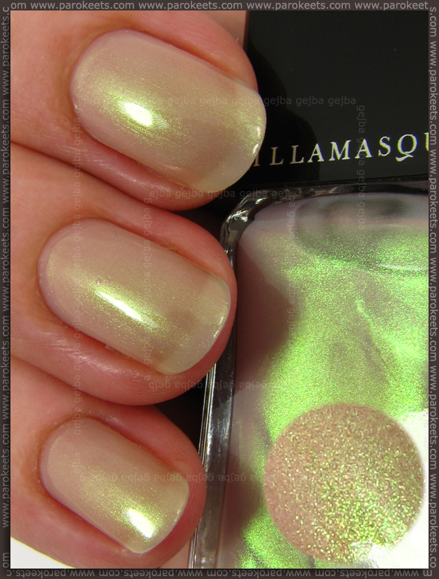 Illamasqua The Sacred Hour - Hemlock nail polish
