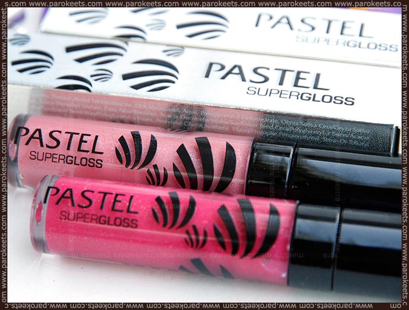 Pastel Supergloss: 50 Pinky, 51 Sand