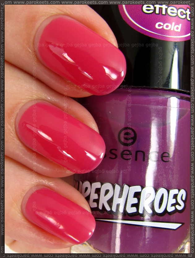 Essence Fantastic Girl (Superheroes LE) - thermo nail polish - WARM
