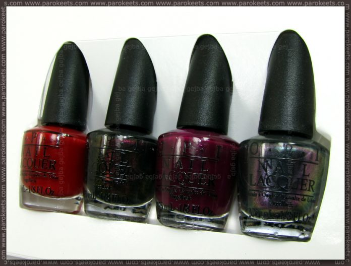 OPI San Francisco - Little Bits of Chic mini pack