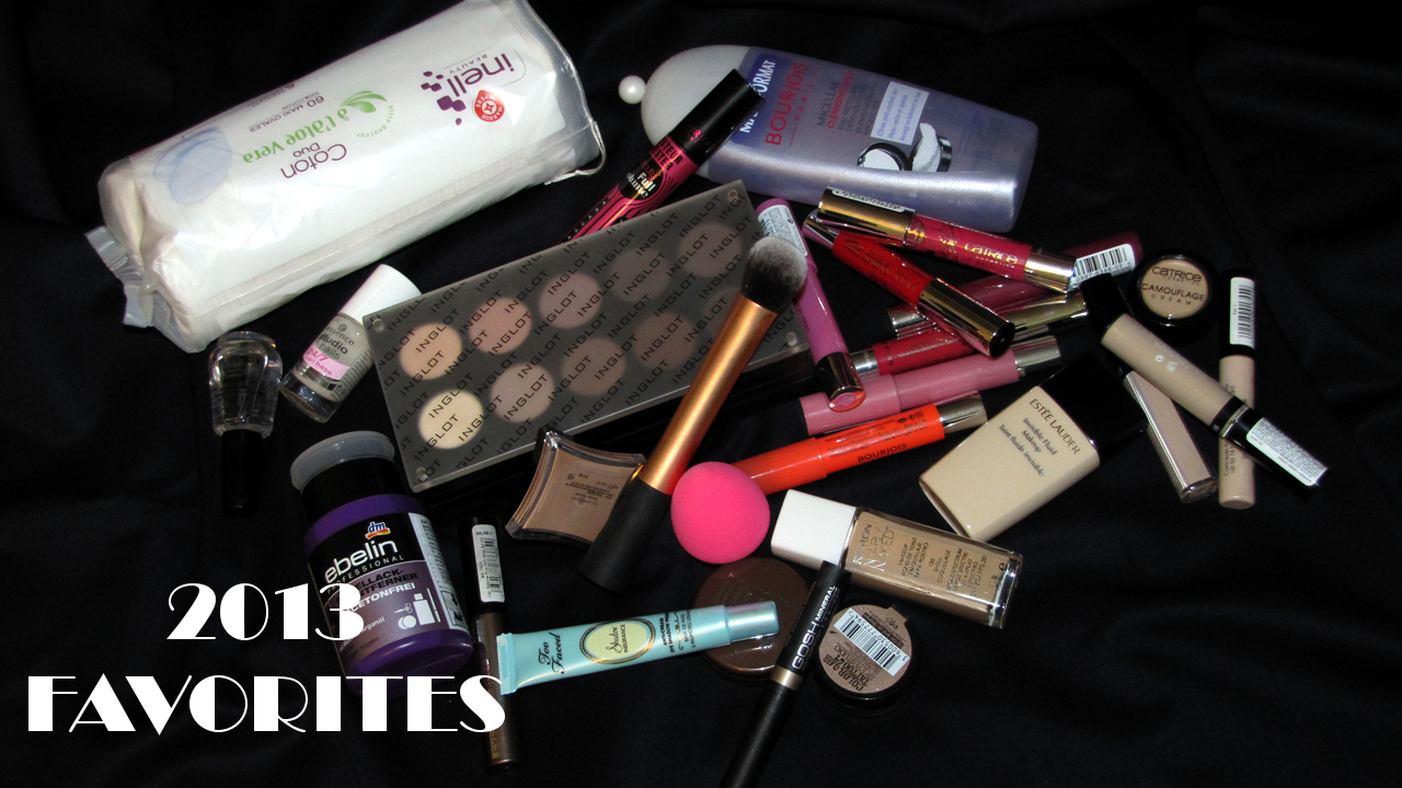 Gejba's 2013 makeup favorites