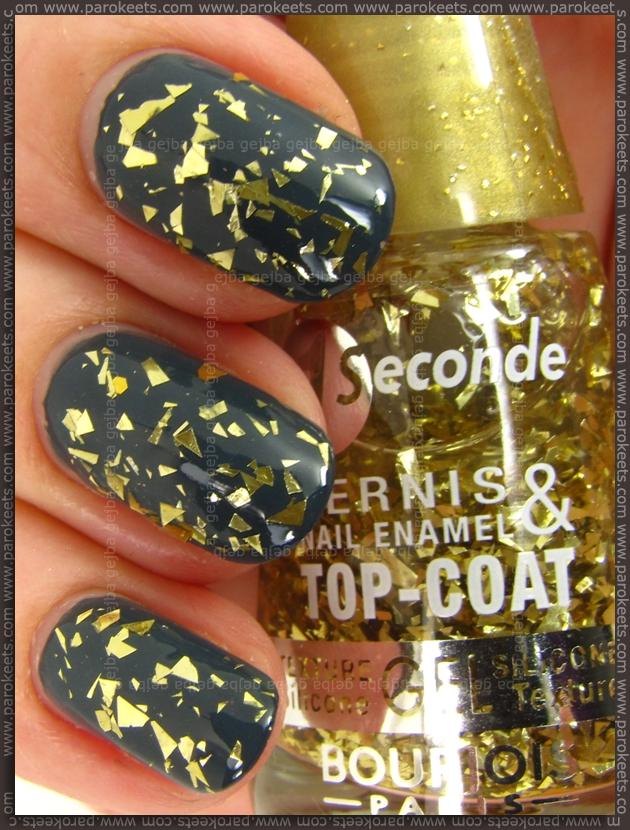 Bourjois Vampire Vanity nail polish swatch