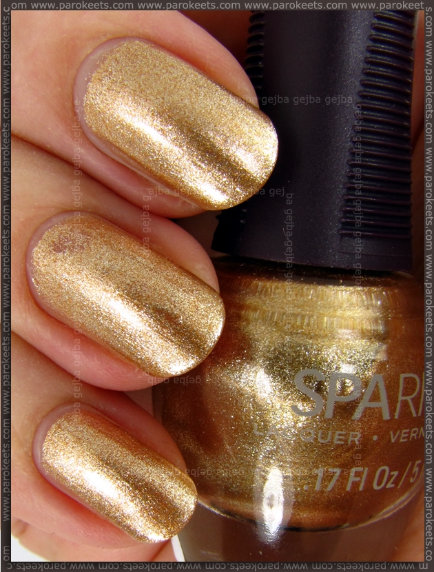 SpaRitual Liquid Gold swatch