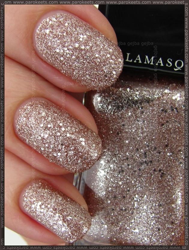 llamasqua Glamore Trilliant nail polish swatch