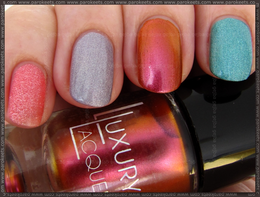Catrice Luxury Lacquers swatches