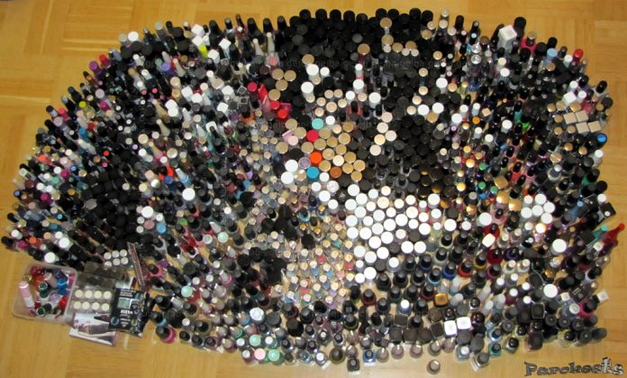 Nail polish collection by Gejba