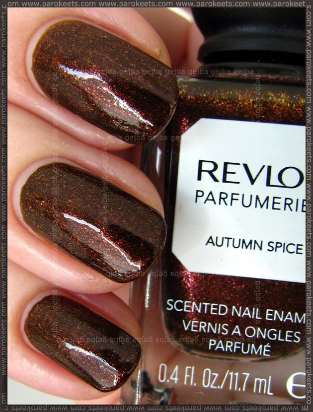 Revlon Parfumerie Autumn Spice shade swatch