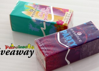Essence edt Parokeets giveaway