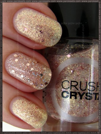 Gosh Girls On Film in Catrice Oyster Champagne swatch