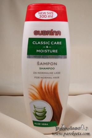Subrina šampon Classic Care and Moisture
