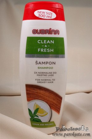 Subrina šampon Clean and Fresh