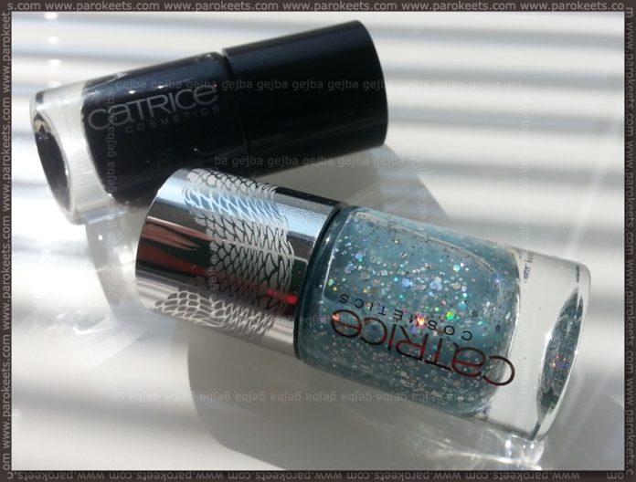Catrice Black To The Routes - Mermaiday Mayday (Le Grand Bleu LE) bottle nail polish
