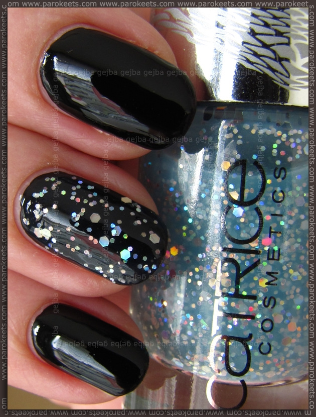 Catrice Black To The Routes - Mermaiday Mayday (Le Grand Bleu LE) swatch