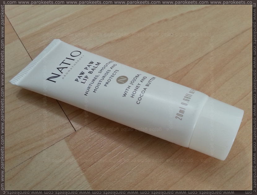 Natio Paw Paw lip balm