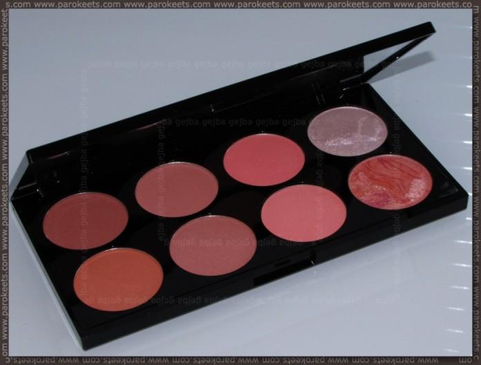 Revolution Ultra Blush Palette Hot Spice shade