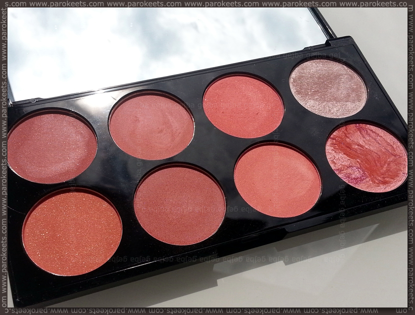 Revolution Ultra Blush Palette Hot Spice sun