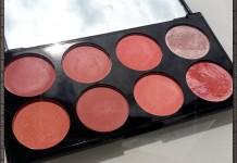 Revolution Ultra Blush Palette Hot Spice sun