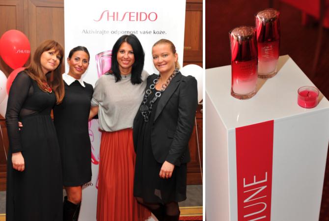 Shiseido Ultimune štiriperesna deteljica (Tanja Pelikon, Simona Caletti, Tanja Šumi, Natalie Duhovnik)