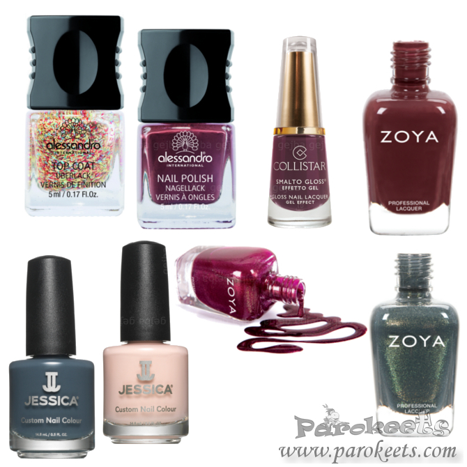 Fall nail polish collections 2014